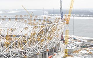 Основные этапы строительства объекта