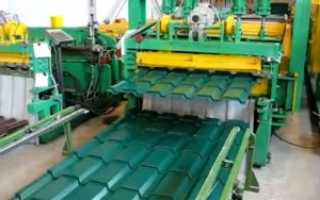 Бизнес план по производству металлочерепицы