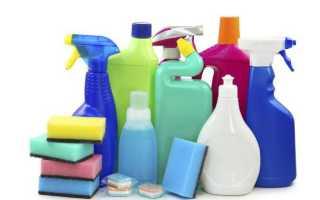 Разрешенные моющие средства