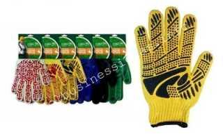 Для изготовления перчаток прибор
