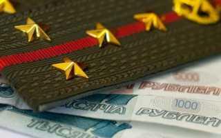 Декларация о доходах военнослужащих