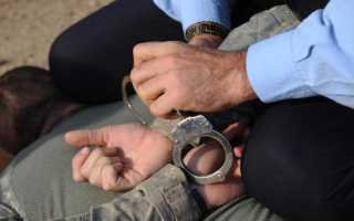 Гражданское задержание в россии закон