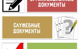 Внутренние нормативные документы организации это