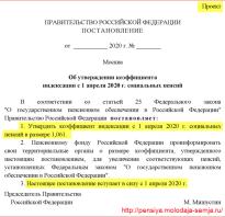 Что такое индексация пенсий в россии
