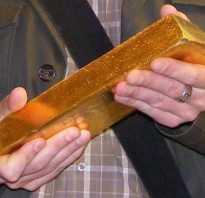 Курс золота от чего зависит