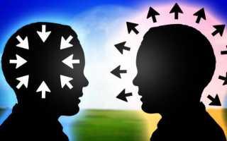 Характеристика интроверта