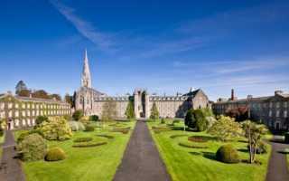 Лучшие университеты ирландии
