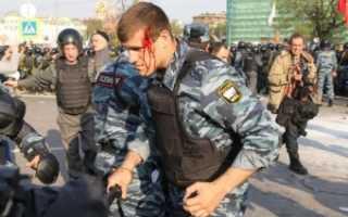 Нападение на полицейского статья ук рф 318