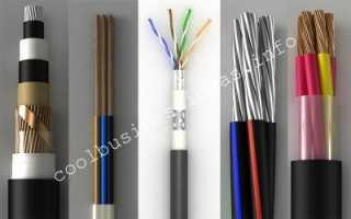Для изготовления кабеля оборудование