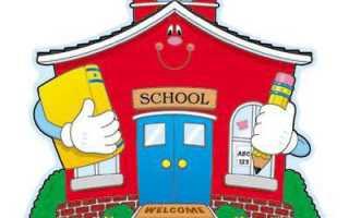 Виды детских образовательных учреждений