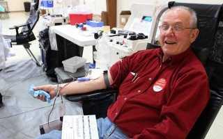 Со скольки можно сдавать кровь на донорство