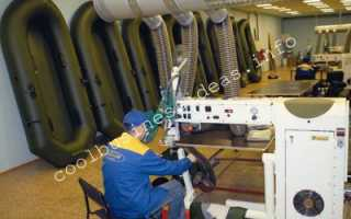 Оборудование для производства лодок