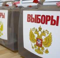 История выборов президента в россии