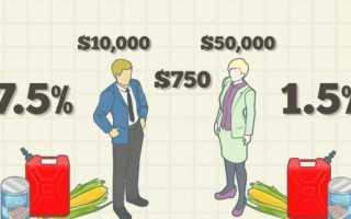 Минусы пропорциональной системы налогообложения
