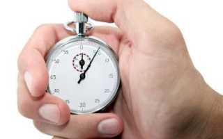 Хронометраж робочого часу зразок