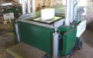 Оборудование для изготовления пластиковых изделий